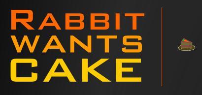 El conejo quiere su pastel...